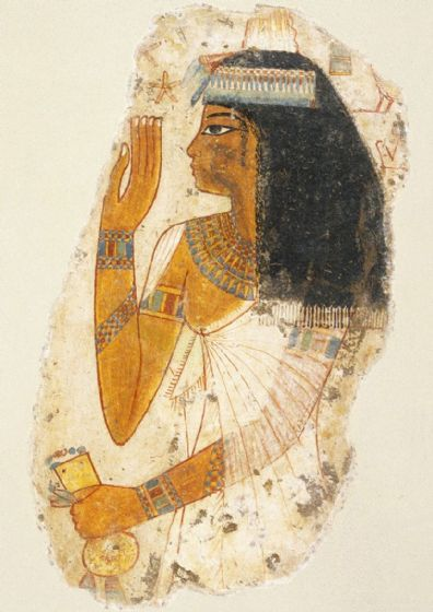 Lady Tjepu (Egypt, c1390-1353 BCE). Ancient Egypt Print/Poster (5268)